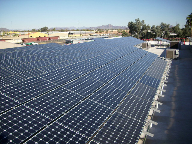 Total Transit, Glendale AZ - The Total Transit PV system is one of the highest performing PV Systems in the USA.